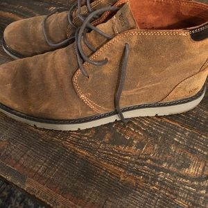 Tom's Mens Distressed Leather Navi Boot